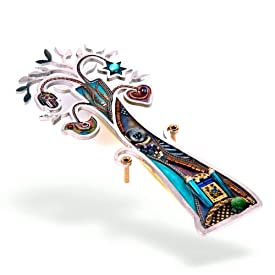 Tree of Life with Temple Mezuzah from the Artazia Collection #954 GM