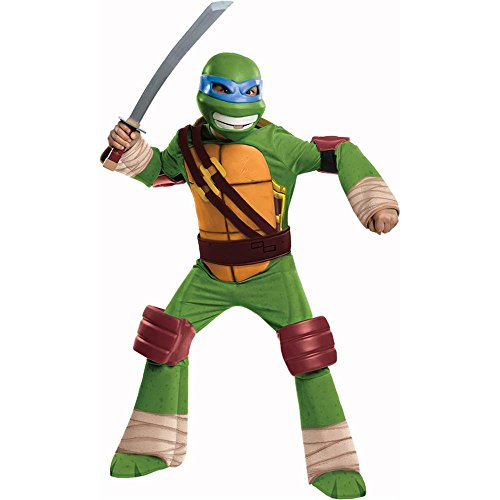 Ninja Turtles Leonardo Deluxe Kids Costume