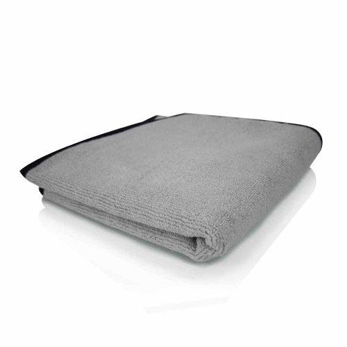 "Chemical Guys - Ultra Plush Micro-Cotton Microfiber Towel, Gray 17"" X 24"" front-631141"