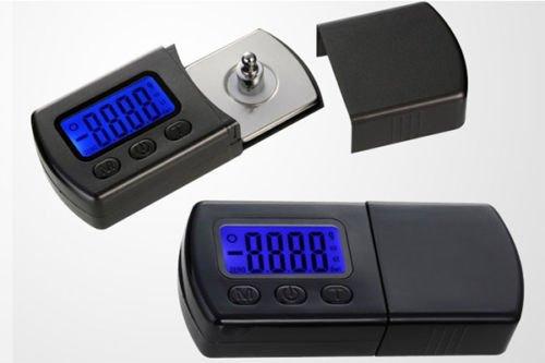 XCSOURCE LED Échelle Bijoux Balance Numérique Cartouche Stylus Force Tracking Gauge 0.01g + Batteries TE386