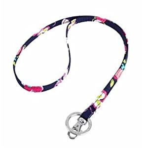 Amazon.com : Vera Bradley Lanyard in Ribbons : Office Products