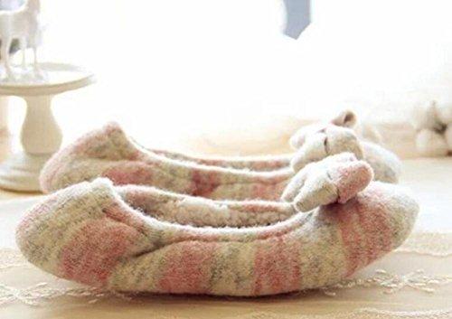 indoor-home-schuhe-kaschmir-wolle-garn-stricken-warmen-monat-schuhe-pink-38-39