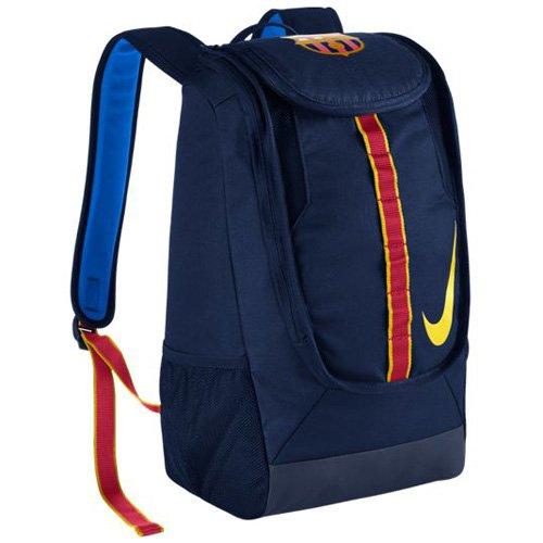 Nike FC Barcelona Allegiance Shield Compact Soccer Backpack  (Blue)