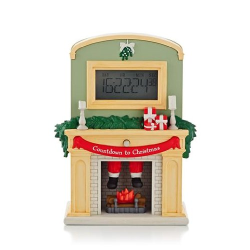 1 X Countdown To Christmas 2013 Hallmark Ornament (Fireplace Christmas Ornament compare prices)