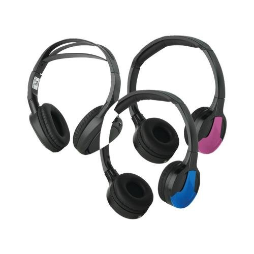 Concept Cdc-Ir23 Dual Ir Adult/Child Fit Headphones With 3 Color Covers (Humanconcepts Cdc-Ir23)