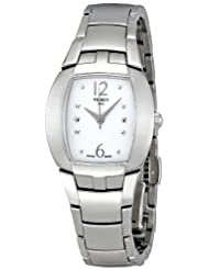 Tissot Women's T053.310.11.017.00 White Dial Femini T Watch