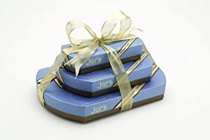 Jer's Chocolates Signature Trio Tower with Ribbon (3 Boxes)