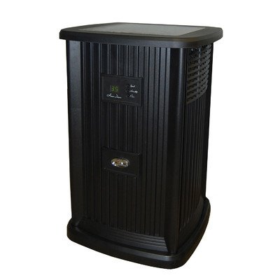 Essick Air EP9 700 Digital Whole-House Pedestal-Style Evaporative Humidifier, Black - 1
