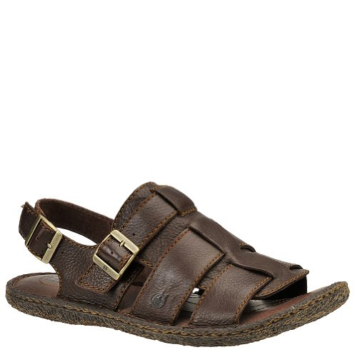 Born Men's Langer Sandal - 10 M - Raisin