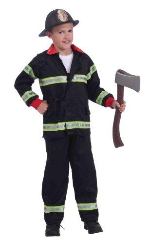 Instant Fireman Costume Kit
