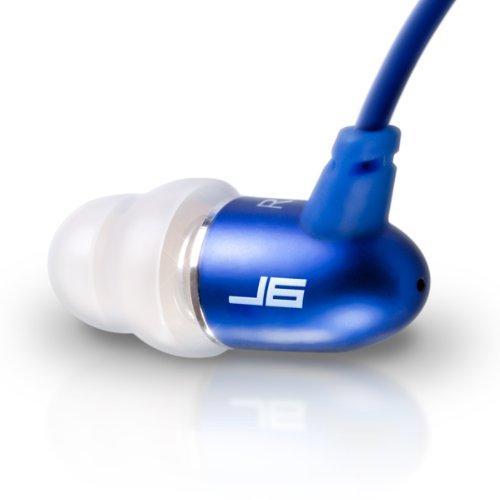 Jlab Jbuds J6 High Fiedelity Metal Ergonomic Earbuds Style Headphones (Sapphire Blue)