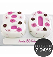 Flower Number Cake (Double Number)