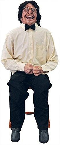 Morris Custumes Laughing Man Animated Prop One Size Multiple Colors