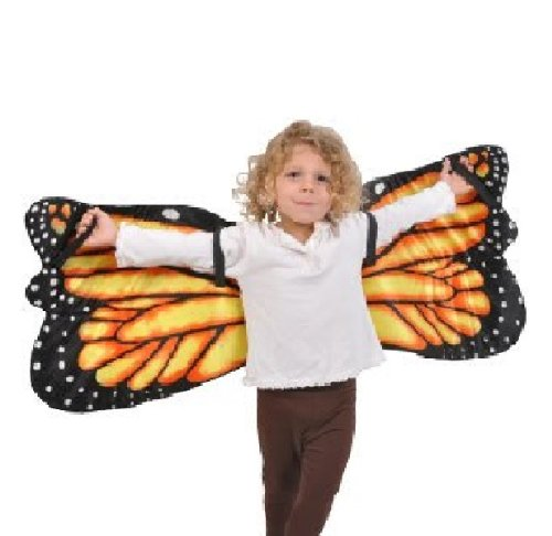 Monarch Butterfly Plush Costume Wings by Adventure Kids