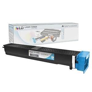 LD © Compatible Cyan Laser Toner Cartridge for Konica Minolta A0TM430 (TN613C) for Bizhub C452, Bizhub C552 and Bizhub C652
