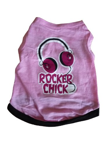 For Dogs Shirt M Pink Headphones (Japan Import)