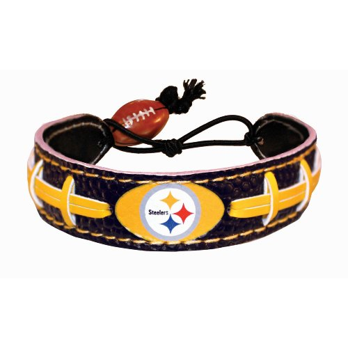 Pittsburgh Steelers Team Color NFL Football Bracelet