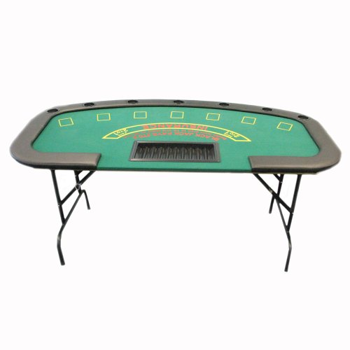 Cyber Monday 2015 Trademark Poker Professional Folding Blackjack Table