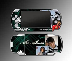 JOE JONAS Brothers Nick Married to Kevin Video Game Vinyl Decal Skin Protector Cover Kit for Sony PSP 1000 Playstation Portable