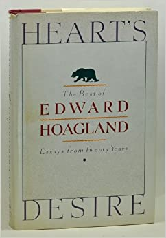 edward hoagland Hailing the elusory mountain lion by edward hoagland august 7, 1971 p 26  the new yorker, august 7, 1971 p 26 the writer is obviously.