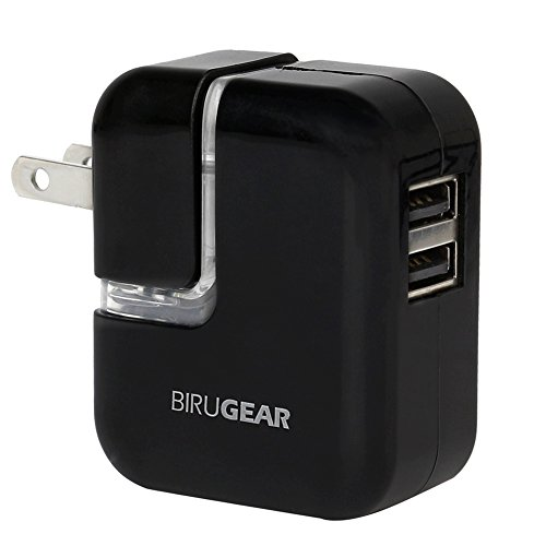 Click to buy BiruGear 2 Port USB Travel Charger Wall Adapter for Sony Xperia Z3 / Z2 / Z Ultra Smartphone - From only $12.95
