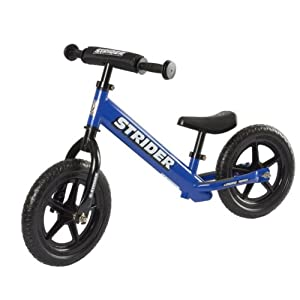Strider No Pedal Balance Bike - Blue
