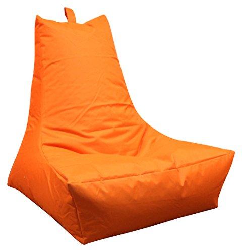 Mesana-XXL-Lounge-Sessel-ca-100x90x80-cm-Sitzsack-fr-Outdoor-Indoor-wasserabweisend-viele-verschiedene-Farben-orange