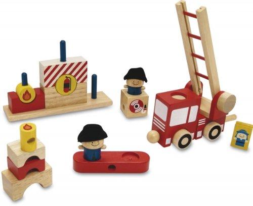 Spielset Feuerwehr I`m Toy 9728