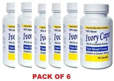 ivory-caps-skin-lightening-whitening-pill-pack-of-6