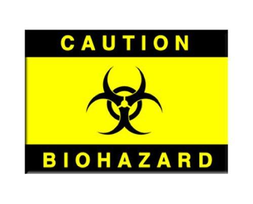 Magnete-Biohazard. Cautela ufficiale regali giocattoli m-2452