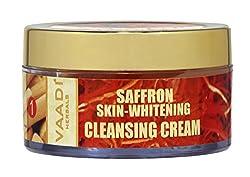 Vaadi Herbals Saffron Skin Whitening Cleansing Cream, 50g