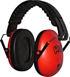Edz Kidz - Red Kids Ear Defenders