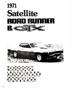 Amazon.com: 1971 Plymouth Road Runner Satellite Electrical ...