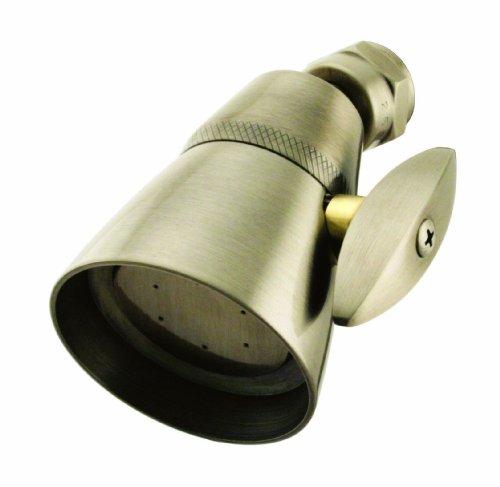 Westbrass D306-06 2-Spray 2-1/4-Inch Shower Head, Antique Brass (Shower Head Antique Brass compare prices)