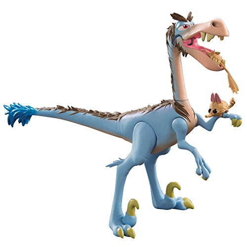 Disney Pixar The Good Dinosaur Large Figure, Bubbha Raptor Rustler W Rodent L62023