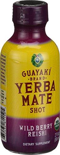 Guayaki Yerba Mate Organic Energy Shot, Wild Berry Reishi, 12 Count (Guayaki Energy Drinks compare prices)