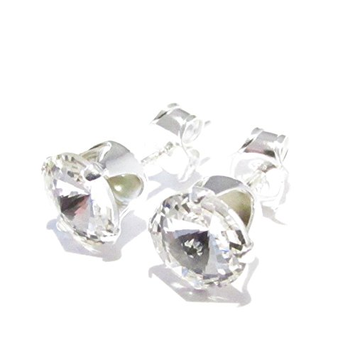 END OF LINE CLEARANCE. SILVER STUD EARRINGS MADE
