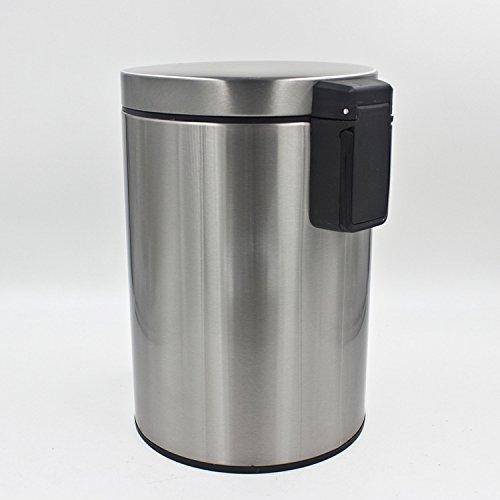 D D Fashion Printed Pedal Trash Can Living Room Bathroom Trash Metal Ho
