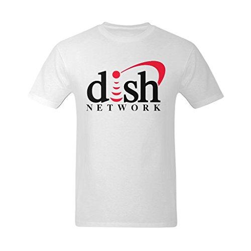 youranli-mens-dish-network-red-and-black-logo-tshirts-l