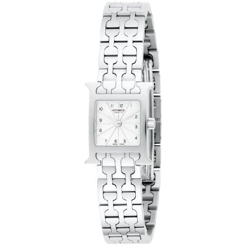 [エルメス]HERMES 腕時計 Hウォッチミニ シルバー文字盤 HH1110.260.4835 レディース 【並行輸入品】