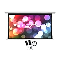 Elite Screens Saker Tab-Tension  106-inch 16:10  Tensioned Electric Drop Down Projection Projector Screen  SKT106NXW-E12<br />