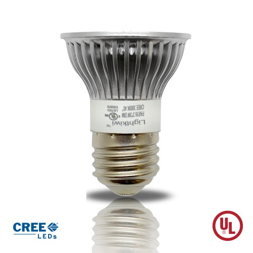 Lightkiwi Par16 Warm White Led Narrow Spot Light Bulb - 30 Watt Equivalent [Item# K7352]