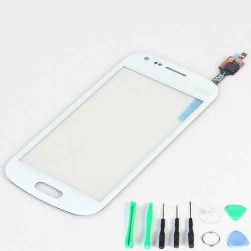 Generic Touch Screen Digitizer Panel Replacement (Lcd Display Not Included) For Samsung S7580 S7582 Galaxy S Duos 2 (White)