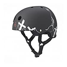 Triple 8 Balloon Robot Special Edition Helmet (Black, Medium)