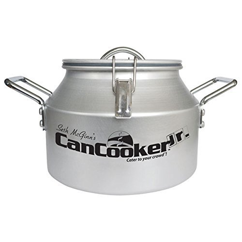 CanCooker JR-001 Seth McGinn's Aluminum Quick Healthy Can Cooker Jr. Steamer by CanCooker