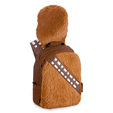 Disney Store Chewbacca Backpack - Star Wars