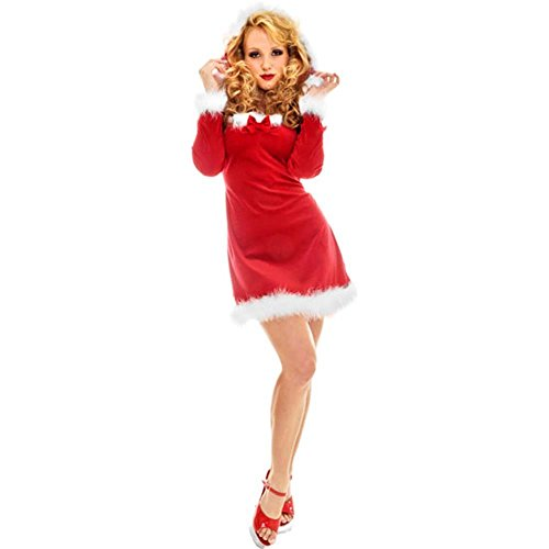 Adult Sexy Mrs. Clause Costume (Size: Large 14-16)