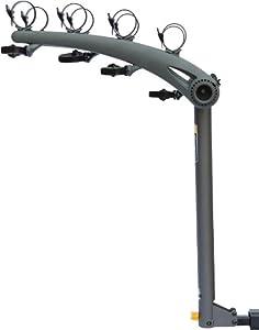 Saris Axis Steel 4-Bike Rack, 1-1 4 or 2 Receiver by Saris