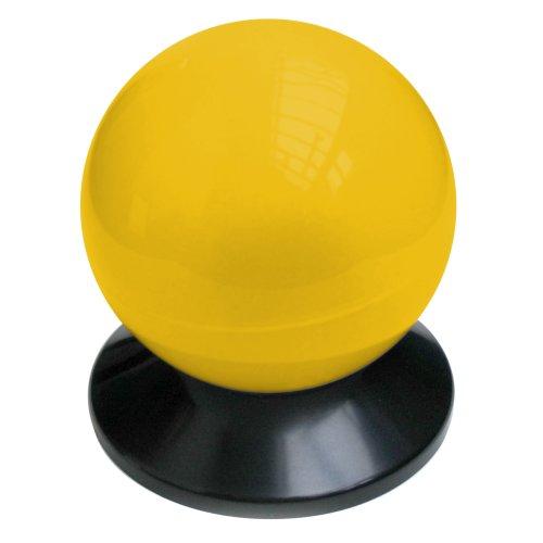 02000 Solar Leuchtkugel gelb
