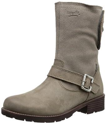 Superfit Heel 10017843, Mädchen Biker Boots, Beige (Lava 43), EU 33